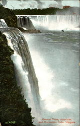 General View American And Horseshoe Falls