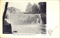 Dam At Hoyt's Mill