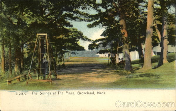 The Swings At The Pines Groveland Massachusetts