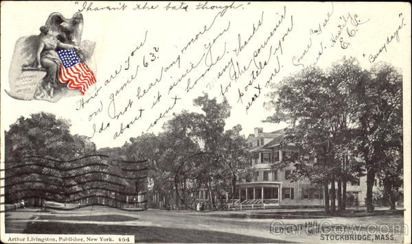 Red Lion Inn, Main Street Stockbridge Massachusetts