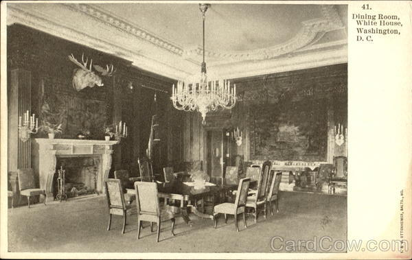 Dining Room, White House Washington District of Columbia