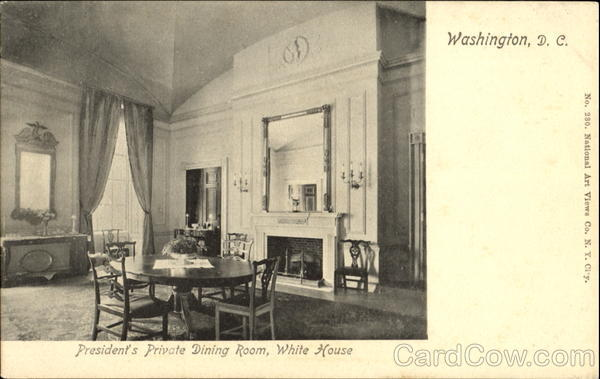 President's Private Dining Room, White House Washington District of Columbia