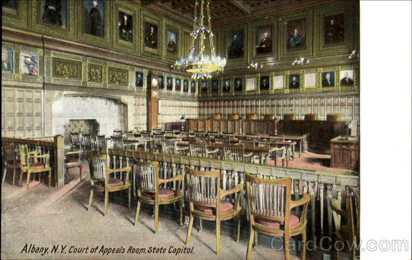 Court Of Appeals Room State Capitol Albany New York
