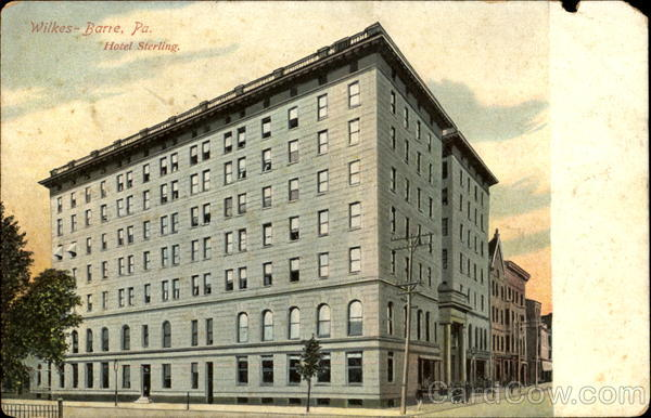 Hotel Sterling Wilkes - Barre Pennsylvania