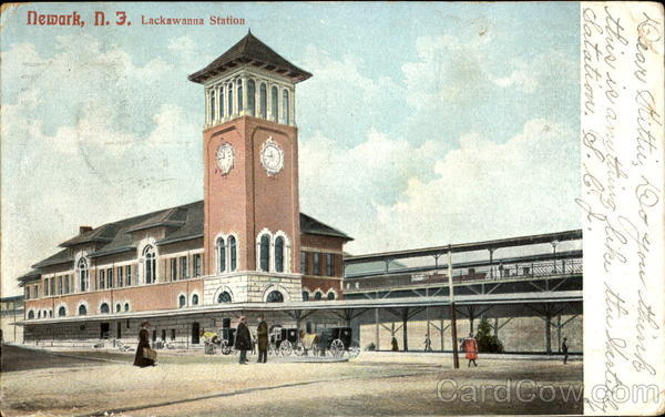 Lackawanna Station Newark New Jersey