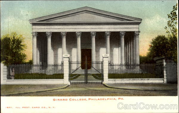 Girard College Philadelphia Pennsylvania