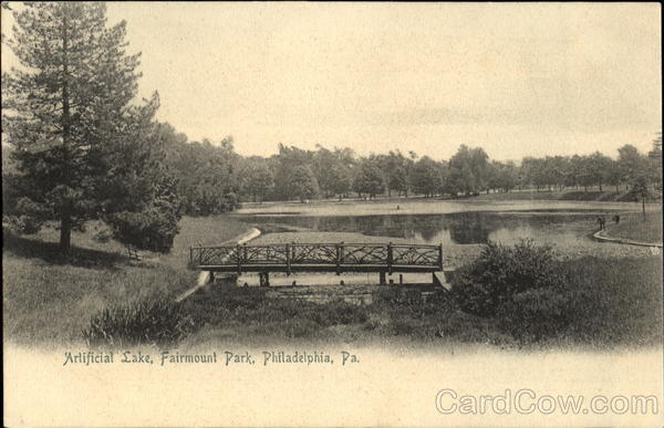 Artificial Lake, Fairmount Park Philadelphia Pennsylvania