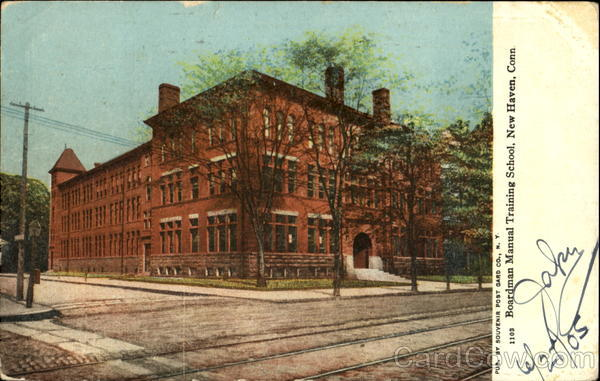 Boardman Manual Training School New Haven Connecticut