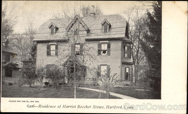 Residence Of Harriet Beecher Stowe Hartford Connecticut