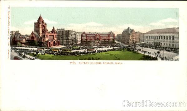 Copley Square Boston Massachusetts