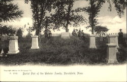Burial Plot Of The Webster Family