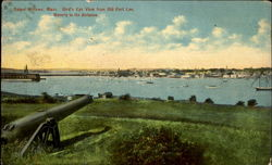Bird's Eye View From Old Fort Lee