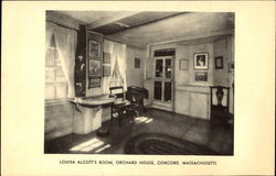Louisa Alcott's Room, Orchard House