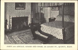John And Abigail Adams Bed Room, 135 Adams St.