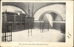 City Hall Ticket Office Rapid Transit Tunnel