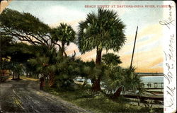 Beach Street At Daytona-India River