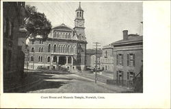 Court House And Masonic Temple