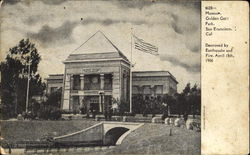 Museum, Golden Gate Park Postcard