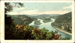 Up The Delaware From The Water Gap