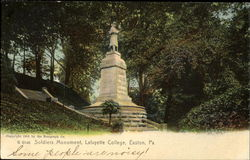 Soldiers Monument, Lafayette College