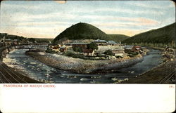 Panorama Of Mauch Chunk