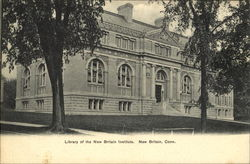 Library Of The New Britain Institute