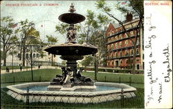 Brewer Fountain & Common