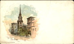 Old South Church Postcard