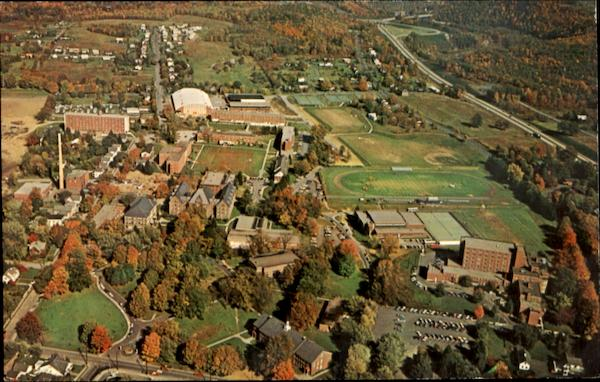 Aerial View Of State College East Stroudsburg Pennsylvania