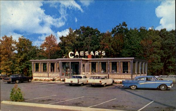 Caesar's Diner Famous For Fine Foods Wind Gap Pennsylvania