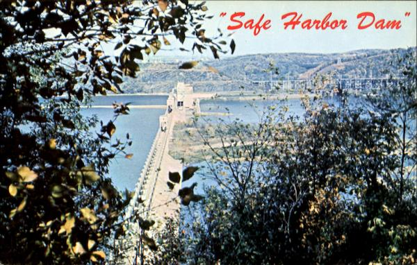 Safe Harbor Dam Pennsylvania
