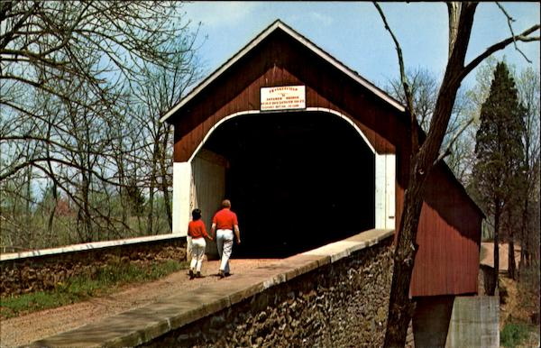 Frankenfield Covered Bridge Pennsylvania