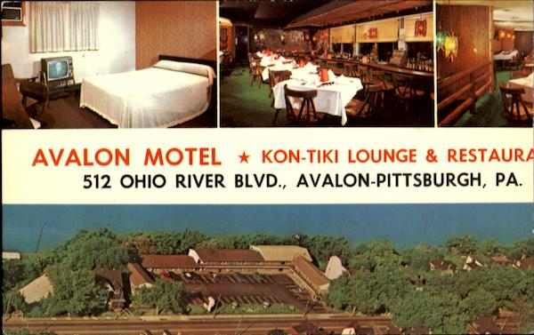 Avalon Motel, 512 Ohio River Blvd Avalon-Pittsburgh Pennsylvania