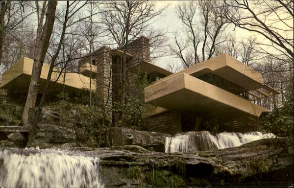 Frank Lloyd Wright Fallingwater Pennsylvania Art