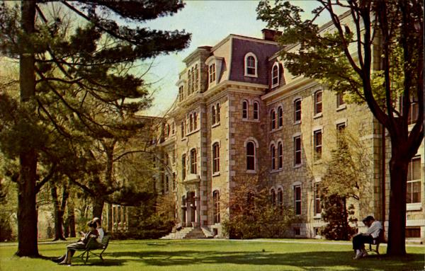 Main Building Woman's Dormitory, West Chester State College Pennsylvania