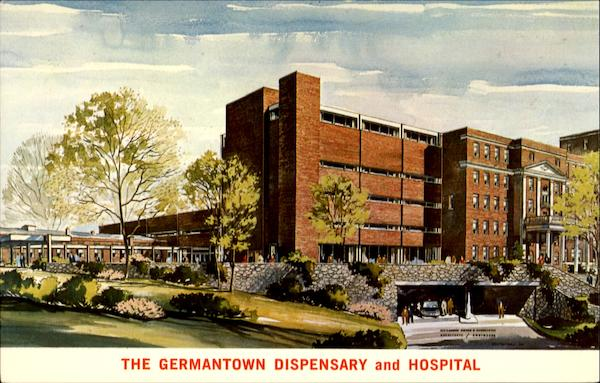 The Germantown Dispensary And Hospital, East Penn And Wister Streets Philadelphia Pennsylvania