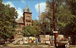 Monroe County Courthouse And Outdoor Art Show