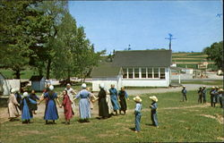 Amish School Children