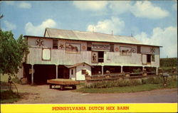 Pennsylvania Dutch Hex Barn