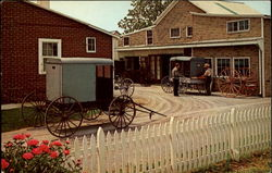 Amish Carriage Maker's Shop