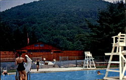 Swimming Pool At Hyner State Park