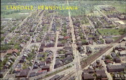 Aerial View Of Lansdale