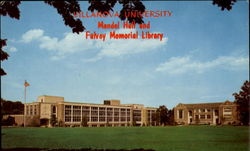 Mendel Hall And Falvey Memorial Library, Villanova University