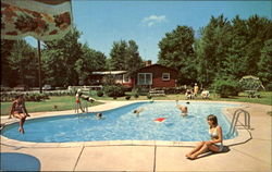 Swimming Pool At The Sportsman Motel, Route 940