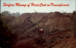 Surface Mining Of Hard Coal In Pennsylvania