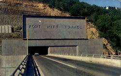 Approach To Fort Pitt Tunnel Driving West