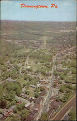 Aerial View Of Downingtown