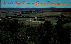 Bird's Eye View Of Scenic Pennsylvania, Butler Valley Postcard