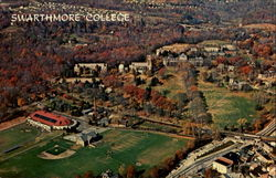 Aerial View Of The Extensive Swarthmore College Campus, Swarthmore College