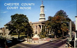 Chester County Court House, Market and High Streets